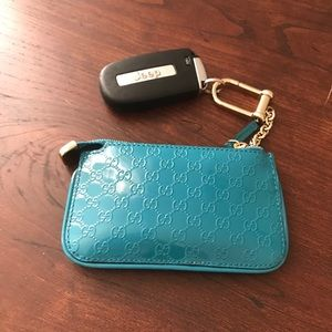 Gucci key case leather authentic